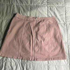 Forever 21 | Front Zip Mini Skirt | M